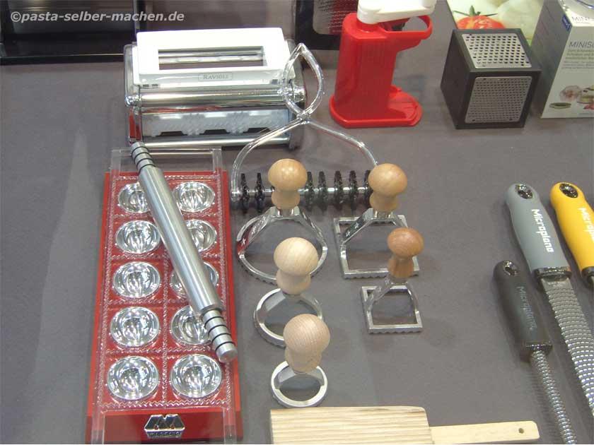 Ravioli selbst gemacht verschiedene Ravioliausstecher