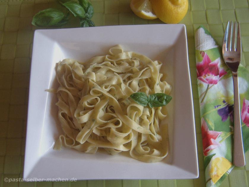 Pasta al limone - Zitronenpasta